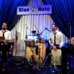 Playing at Blue Note Jazz Club, New York City