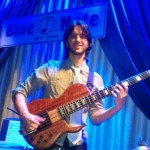 Playing at Blue Note